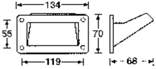 Boxengriff Kunststoff (L x B x H) 134 x 70 x 68 mm 3401CP