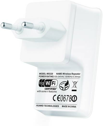 Huawei WS320 WLAN Repeater 150 MBit/s 2.4 GHz