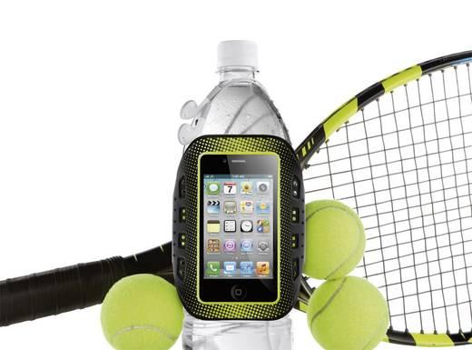iPhone Armband Belkin iPhone 4/4S EasyFit Sportsarmband Passend für: Apple iPhone 4, Apple iPhone 4S, Schwarz