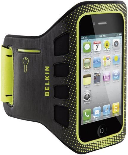 Belkin EasyFit iPhone Armband Passend für: Apple iPhone 4, Apple iPhone 4S, Schwarz