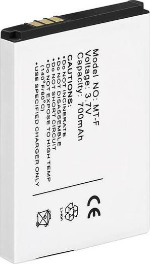Schnurlostelefon Akku Conrad energy Passend für Marke: AVM Li-Ion 3.7 V 700 mAh