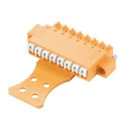 Zásuvkové púzdro na kábel Weidmüller BCF 3.81/13/180FZE SN OR BX 1236050000, 59.92 mm, pólů 13, rozteč 3.81 mm, 50 ks