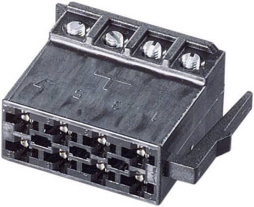 Lautsprecher-Steckverbinder Stecker, gerade Polzahl: 8 Schwarz AIV 53C639 1 St.
