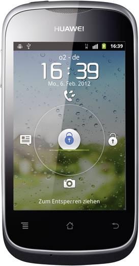 Huawei Ascend Y 201pro (8.9 cm (3.5 Zoll) Display, 3.2 Mio. Pixel Kamera, Schwarz)