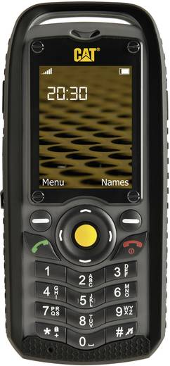 CAT B25 Dual-SIM-Outdoor Handy Schwarz-Grau, IP-67
