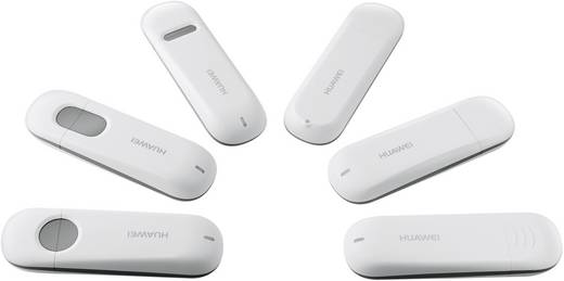 HUAWEI E303 UMTS / 3G Surfstick microSD Kartenslot, Weiß