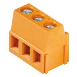 Skrutkovacia svorka Weidmüller LM 5.00/17/90 3.5SN OR BX 1234130000, 2.5 mm², Pólov 17, oranžová, 50 ks