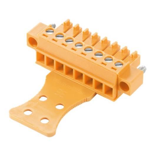 Buchsengehäuse-Kabel BC/SC Polzahl Gesamt 15 Weidmüller 1236680000 Rastermaß: 3.81 mm 50 St.