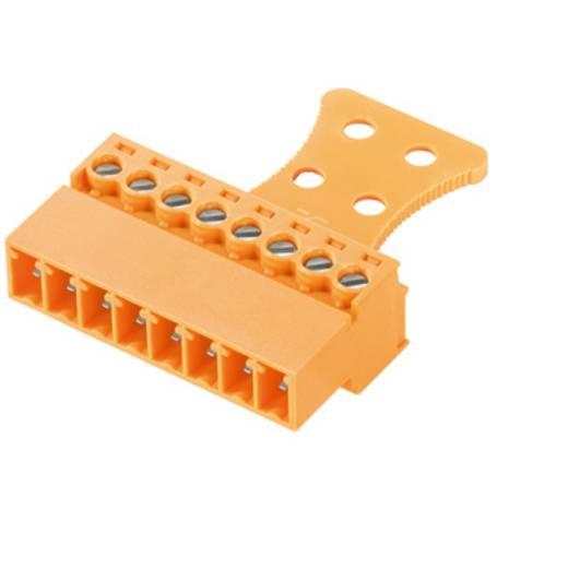 Stiftgehäuse-Kabel BC/SC Polzahl Gesamt 9 Weidmüller 1237070000 Rastermaß: 3.81 mm 50 St.