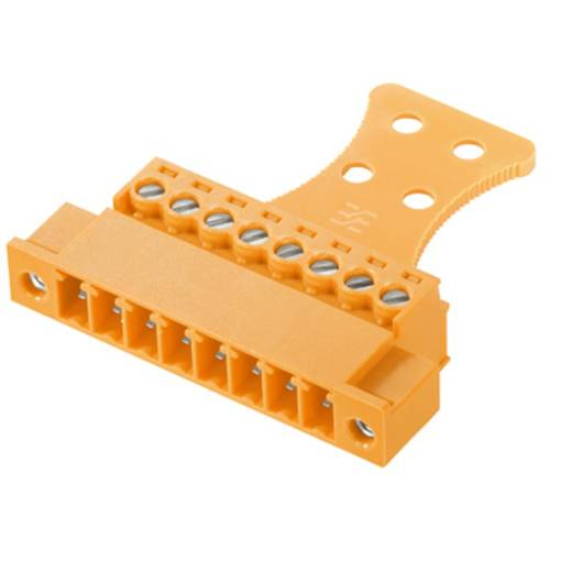 Stiftgehäuse-Kabel BC/SC Polzahl Gesamt 9 Weidmüller 1237190000 Rastermaß: 3.81 mm 50 St.