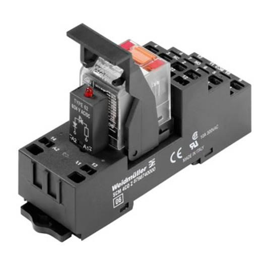 Relaisbaustein 10 St. Weidmüller RCMKITZ 24VDC 4CO LED Nennspannung: 24 V/DC Schaltstrom (max.): 6 A 4 Wechsler