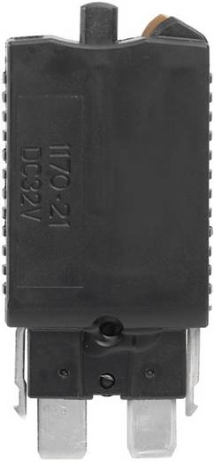 Standard Flachsicherung 2 A Schwarz Weidmüller ETA 1180 01 2A 1278970000 5 St.