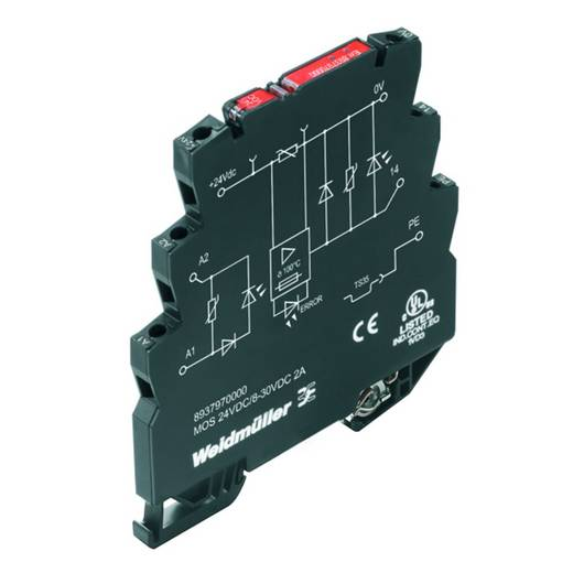 Halbleiterrelais 10 St. Weidmüller MOS 24VDC/8-30VDC 2A E Last-Strom (max.): 2 A Schaltspannung (max.): 30 V/DC