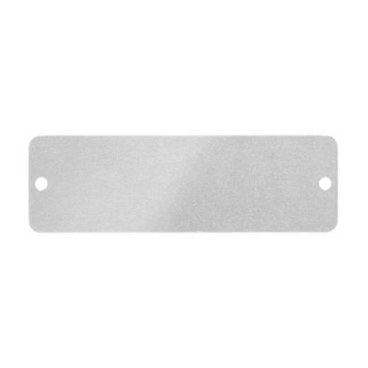 Gerätemarkierung Montage-Art: schrauben, nieten Beschriftungsfläche: 27 x 85 mm Passend für Serie Schilderrahmen, Geräte