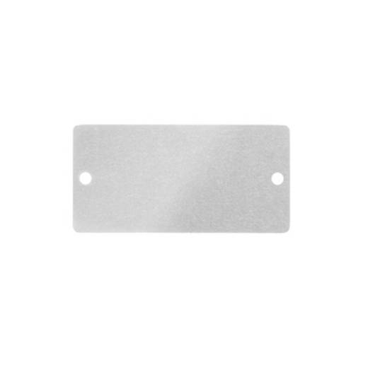Gerätemarkierung Montage-Art: schrauben, nieten Beschriftungsfläche: 60 x 30 mm Passend für Serie Schilderrahmen, Geräte