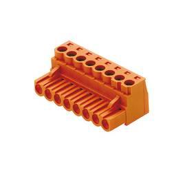 Zásuvkové púzdro na kábel Weidmüller BLZ 5.00/04/180 SN BK BX 1596080000, 20.60 mm, pólů 4, rozteč 5 mm, 100 ks