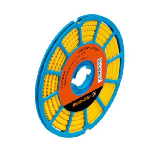 Kennzeichnungsring Aufdruck J Außendurchmesser-Bereich 3 bis 5 mm 1568251655 CLI C 1-3 GE/SW J CD Weidmüller
