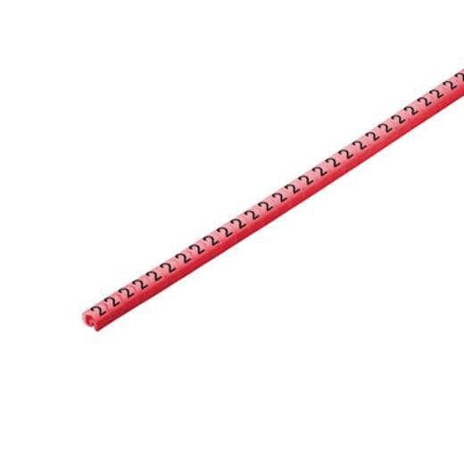 Kennzeichnungsring Aufdruck 2 Außendurchmesser-Bereich 1 bis 3 mm 1568241509 CLI C 02-3 RT/SW 2 CD Weidmüller