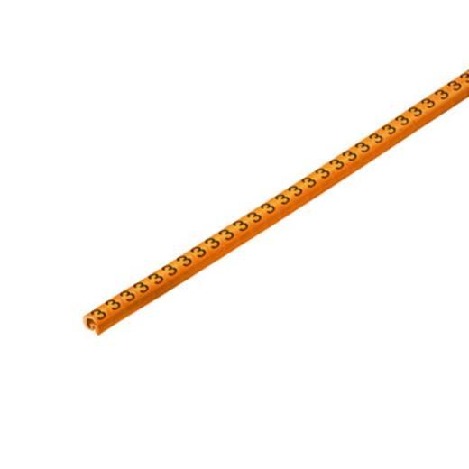 Weidmüller CLI C 02-3 OR/SW 3 CD Kennzeichnungsring Aufdruck 3 Außendurchmesser-Bereich 1 bis 3 mm 1568241512