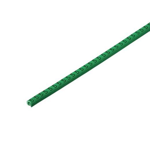 Kennzeichnungsring Aufdruck 5 Außendurchmesser-Bereich 1 bis 3 mm 1568241518 CLI C 02-3 GN/SW 5 CD Weidmüller
