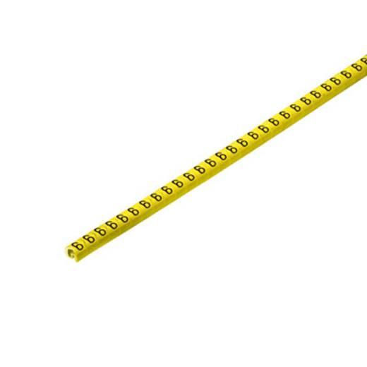 Kennzeichnungsring Aufdruck 6 Außendurchmesser-Bereich 1 bis 3 mm 1568241520 CLI C 02-3 GE/SW 6 CD Weidmüller