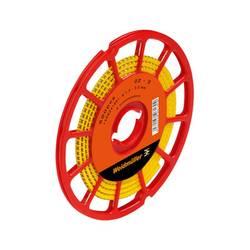 Označovacie krúžok Weidmüller CLI C 02-3 GE/SW V CD 1568241681, žltá, 500 ks