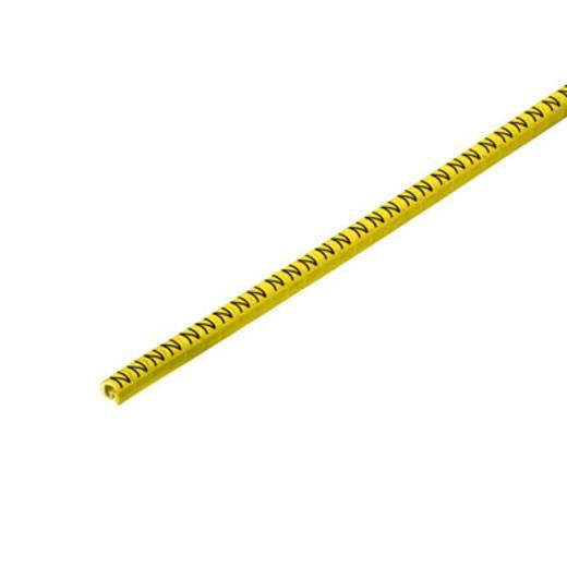 Weidmüller CLI C 02-3 GE/SW N CD Kennzeichnungsring Aufdruck N Außendurchmesser-Bereich 1 bis 3 mm 1568241663