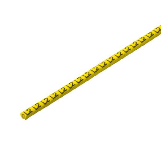 Kennzeichnungsring Aufdruck L2 Außendurchmesser-Bereich 1 bis 3 mm 1568241729 CLI C 02-6 GE/SW L2 CD Weidmüller