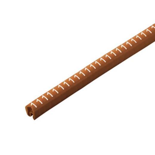Weidmüller CLI C 2-4 BR/WS 1 CD Kennzeichnungsring Aufdruck 1 Außendurchmesser-Bereich 4 bis 10 mm 1568261506