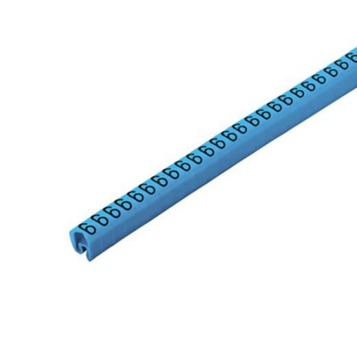 Kennzeichnungsring Aufdruck 6 Außendurchmesser-Bereich 4 bis 10 mm 1568261521 CLI C 2-4 BL/SW 6 CD Weidmüller
