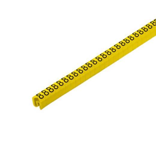 Kennzeichnungsring Aufdruck 8 Außendurchmesser-Bereich 4 bis 10 mm 1568261526 CLI C 2-4 GE/SW 8 CD Weidmüller