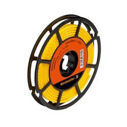 Označovacie krúžok Weidmüller CLI M 2-4 GE/SW O CD 1568301665, žltá, 500 ks