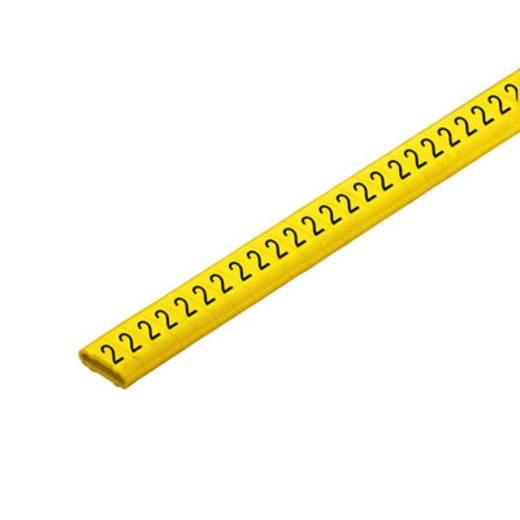 Kennzeichnungsring Aufdruck 2 Außendurchmesser-Bereich 10 bis 317 mm 1568301508 CLI M 2-4 GE/SW 2 CD Weidmüller
