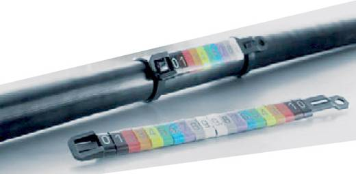 Kennzeichnungsring Aufdruck 2 Außendurchmesser-Bereich 10 bis 317 mm 1733651508 CLI M 2-4 GE/SW 2 MP Weidmüller