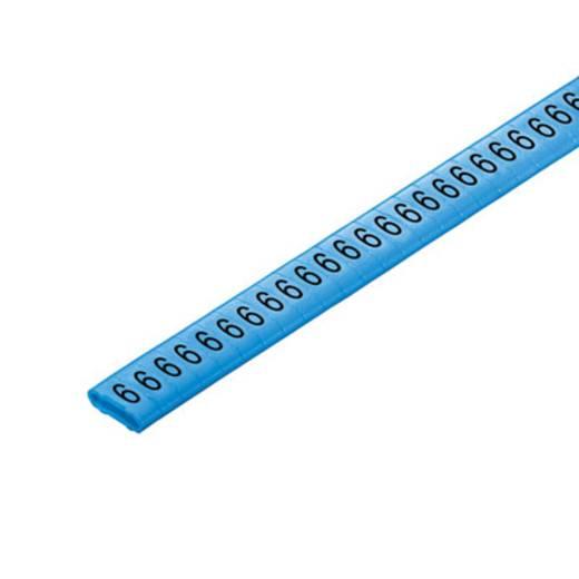 Kennzeichnungsring Aufdruck 6 Außendurchmesser-Bereich 10 bis 317 mm 1568301521 CLI M 2-4 BL/SW 6 CD Weidmüller