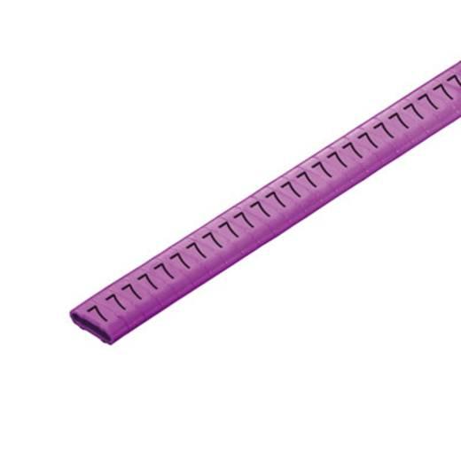 Kennzeichnungsring Aufdruck 7 Außendurchmesser-Bereich 10 bis 317 mm 1568301524 CLI M 2-4 VI/SW 7 CD Weidmüller