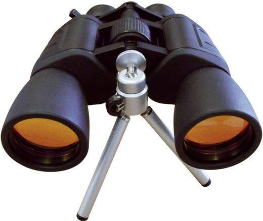 Zoom-Fernglas Jumelles avec zoom 10-30x60 mm 10 bis 30 x 60 mm Schwarz (gummiert)
