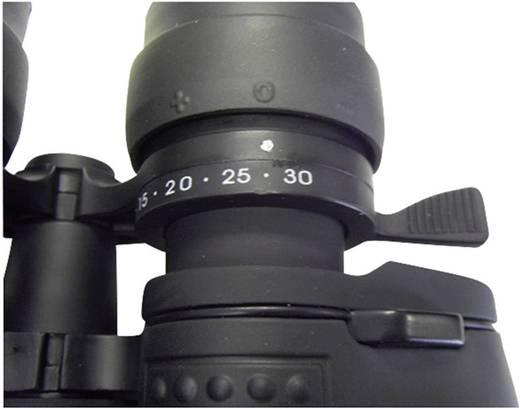 Zoom-Fernglas 10 bis 30 x 60 mm Schwarz (gummiert)