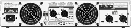 PA Verstärker Behringer INUKE NU 6000DSP RMS Leistung je Kanal an 4 Ohm: 3100 W