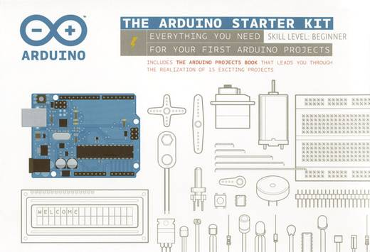 Arduino Starter-Kit Starter Kit (Englisch) 65194 ATMega328