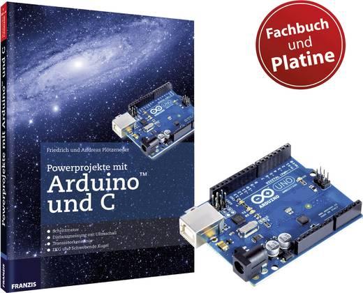 Buch Powerprojekte mit Arduino und C + Original Arduino Uno Platine
