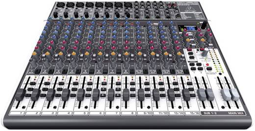 Konsolen-Mischpult Behringer XENYX X2222 Anzahl Kanäle:16 USB-Anschluss
