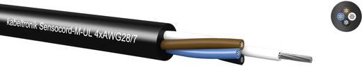 Sensorleitung Sensocord® 3 x 0.09 mm² Schwarz Kabeltronik 242050800 100 m