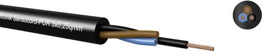 Sensorleitung Sensocord® 4 x 0.25 mm² Schwarz Kabeltronik 2454P2509 100 m