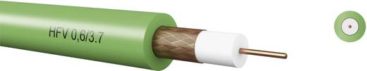 Koaxialkabel Außen-Durchmesser: 6 mm 75 Ω Grün Kabeltronik 7406037S0 Meterware