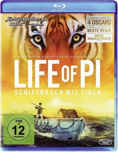 blu-ray Life of Pi - Schiffbruch mit Tiger FSK: 12