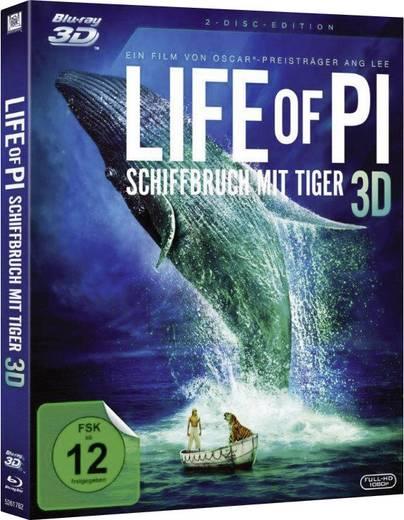 blu-ray 3D Life of Pi - Schiffbruch mit Tiger FSK: 12