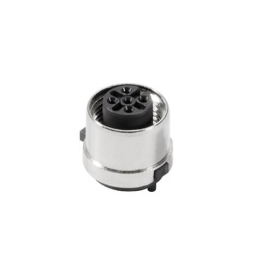 Weidmüller 1312970000 Sensor-/Aktor-Einbausteckverbinder M12 Buchse, Einbau Polzahl: 5 500 St.