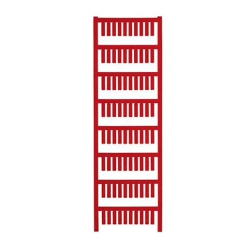 Gerätemarkierung Montage-Art: aufschieben Beschriftungsfläche: 15 x 4 mm Passend für Serie Weidmüller TM-H Hülsen Rot We
