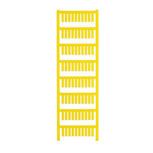 Gerätemarkierung Montage-Art: aufschieben Beschriftungsfläche: 15 x 4 mm Passend für Serie Weidmüller TM-H Hülsen Gelb W